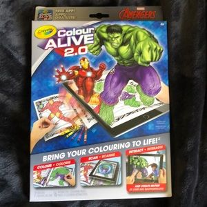 "CRAYOLA Advengers 2.0 colour alive ""4 for $20"""